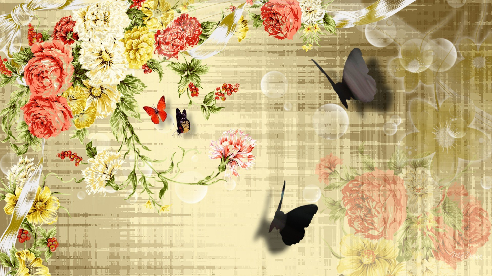 41+ Vintage Butterfly Wallpaper on WallpaperSafari