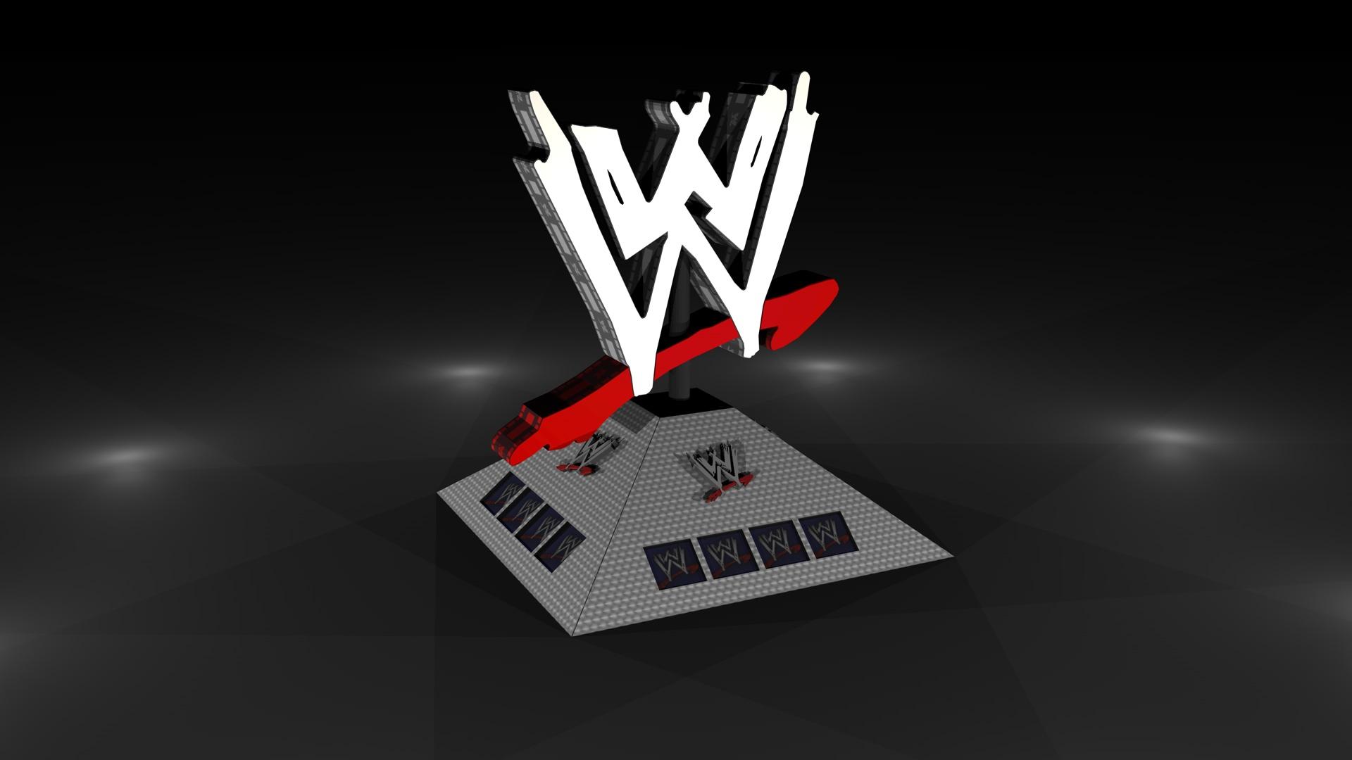 WWE Logo Render by GaryMc10 1920x1080