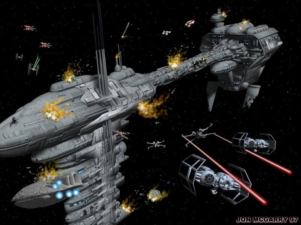 48 Star Wars Space Wallpaper On Wallpapersafari