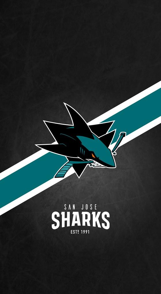 San Jose Sharks NHL iPhone XXSXR Lock Screen Wallpaper Flickr 559x1023