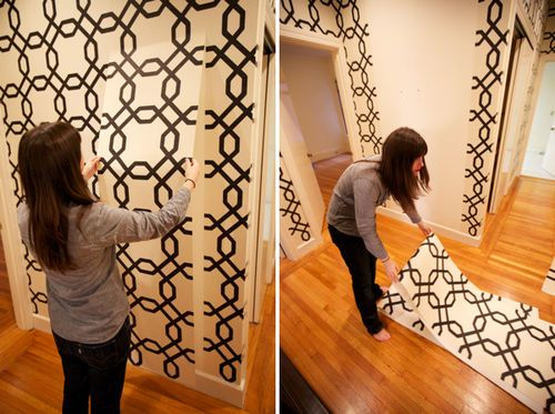 Graphic Removable Wallpaper Cool Graphic Designs Invoice 500x373
