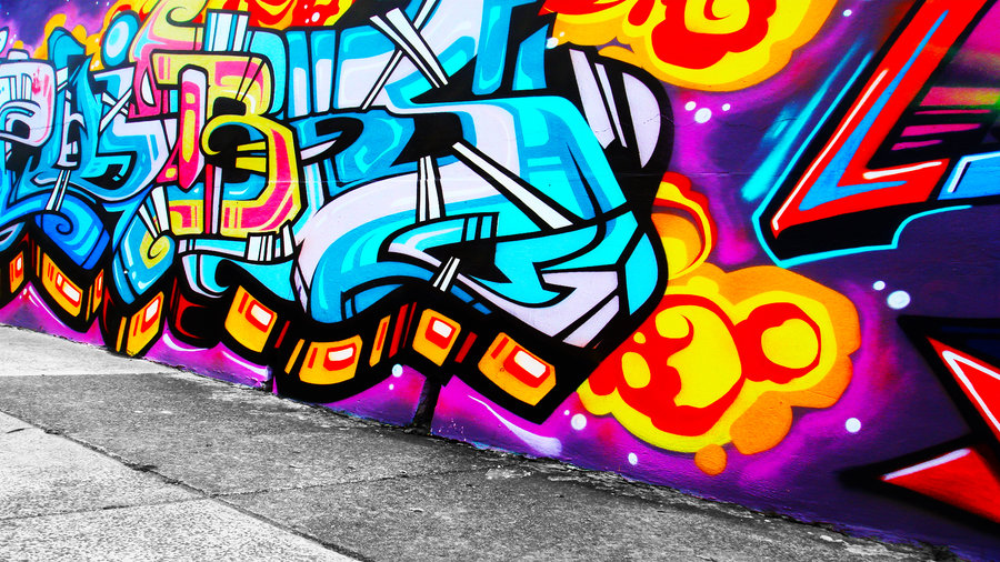 foto de Free download Graffiti Wallpaper 4 by alekSparx [900x506] for your ...