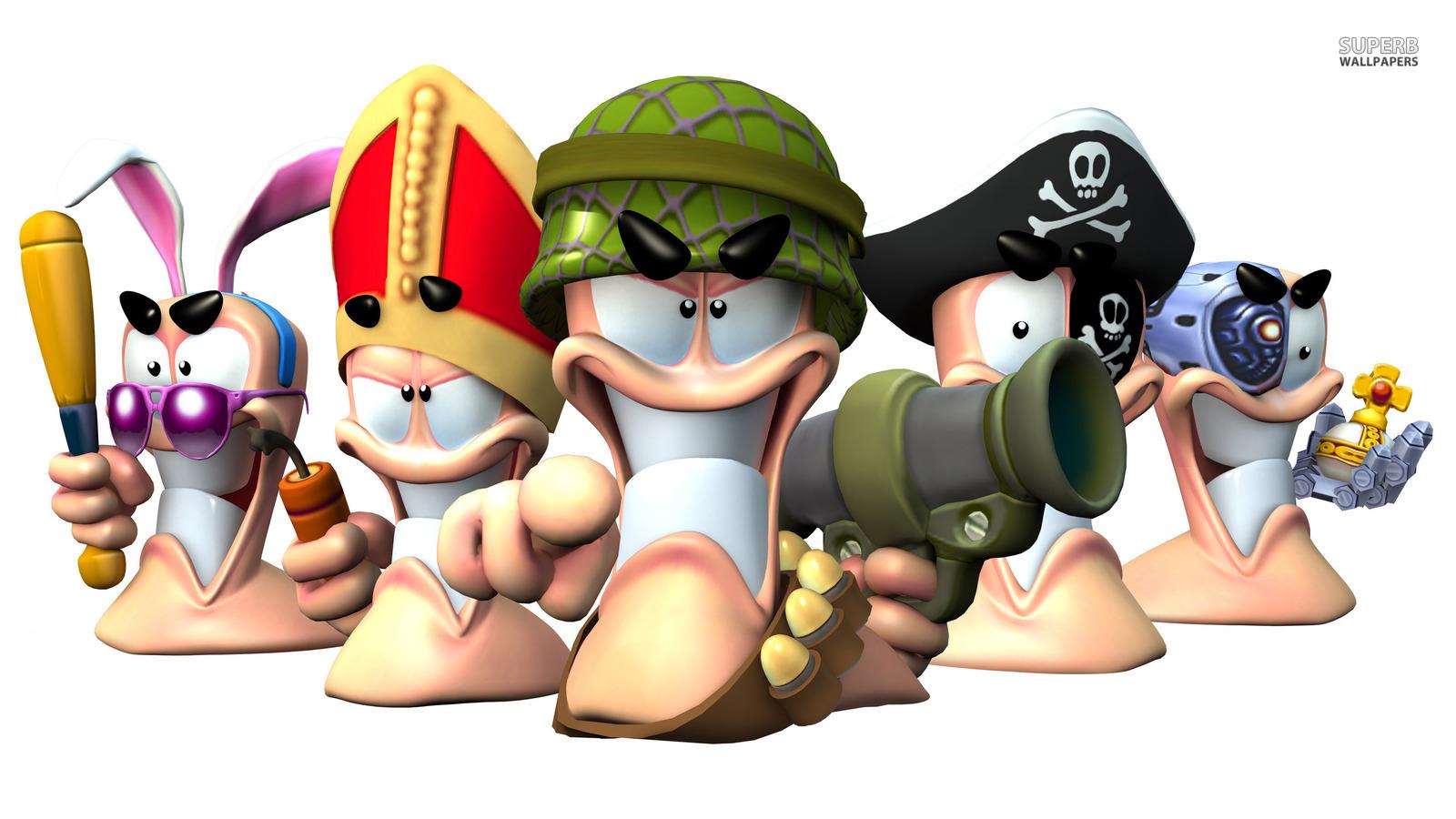 Worms Revolution   Video Games Wallpaper 38721349 1600x900