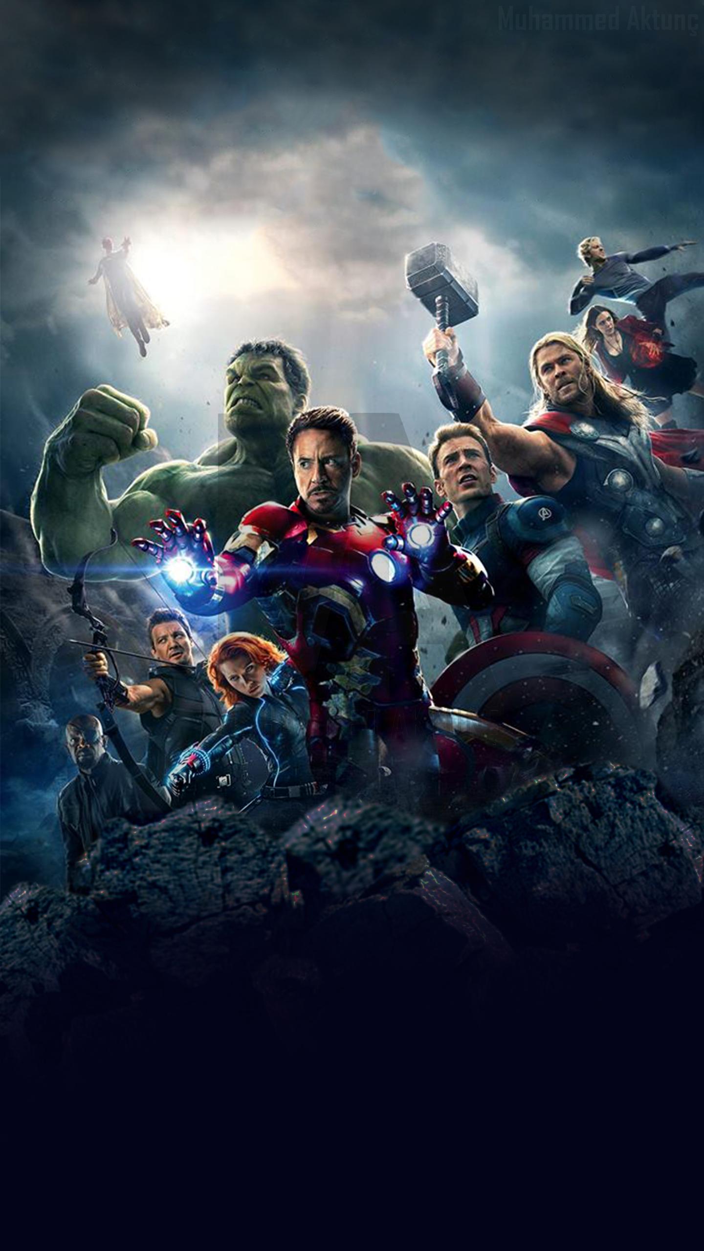 MARVELs Avengers Age of Ultron Wallpaper for G3 by muhammedaktunc on 1440x2560