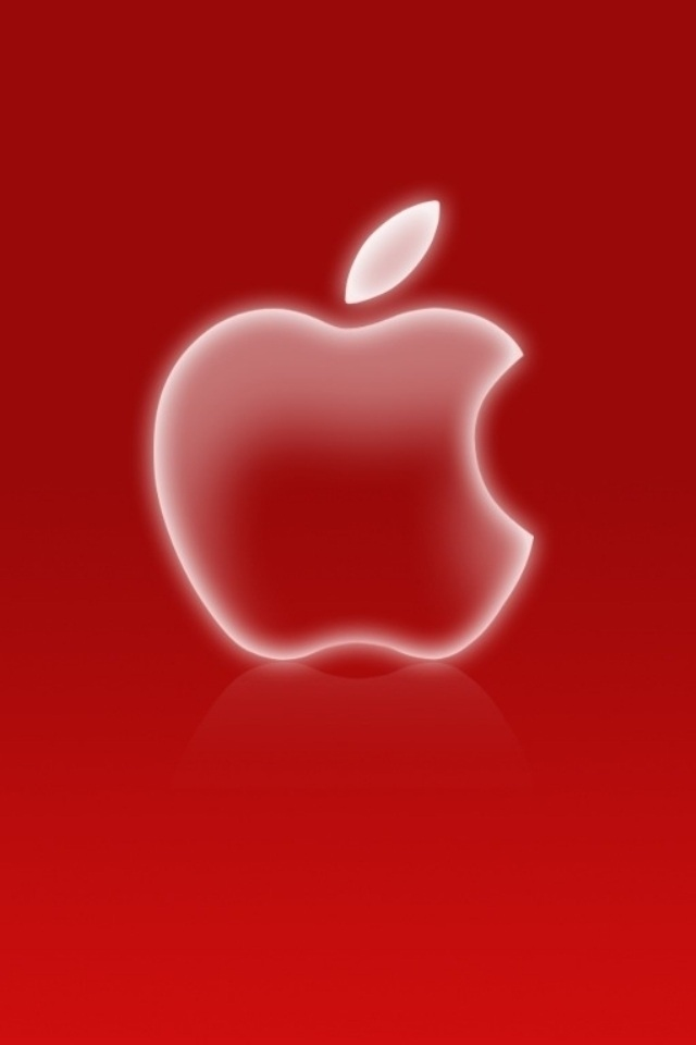 Red And White Apple Iphone Wallpapers 640x960 Pop Hd Iphone 640x960