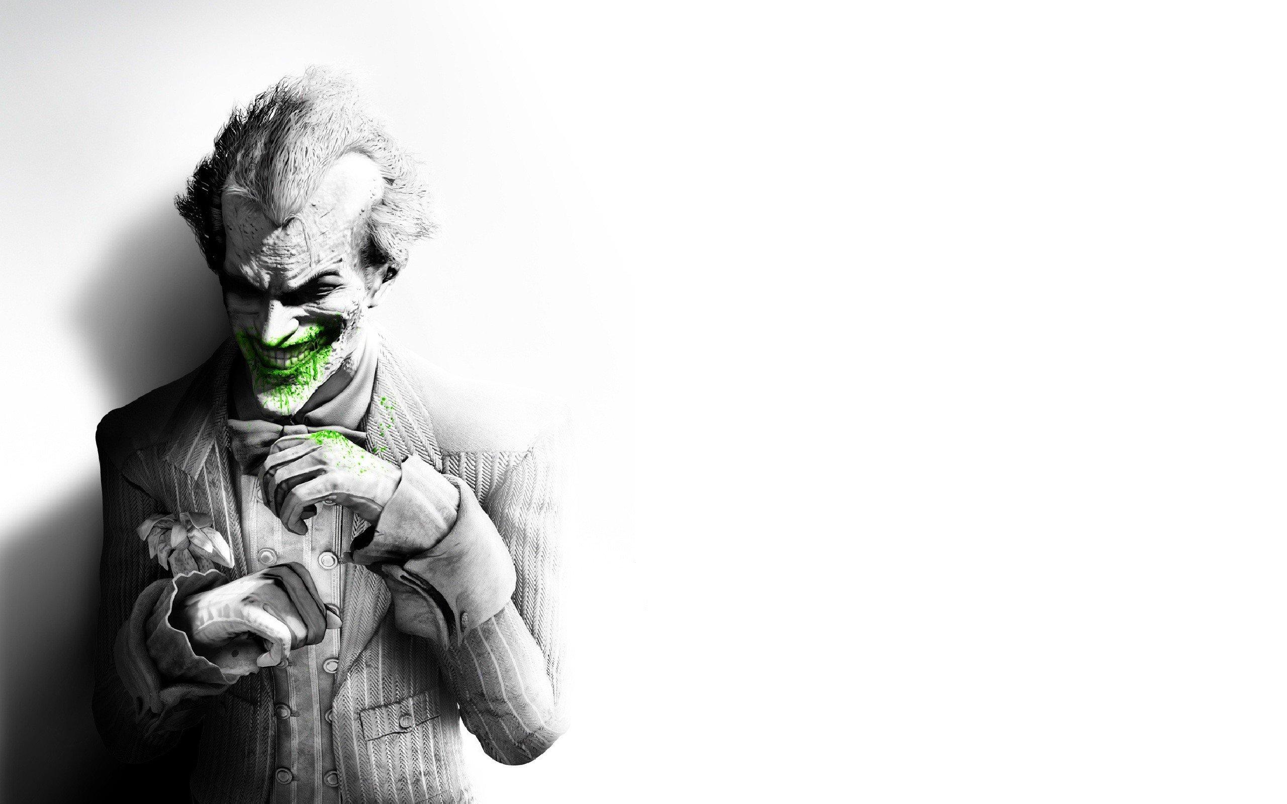 Arkham City Joker by Paullus23 2560x1600