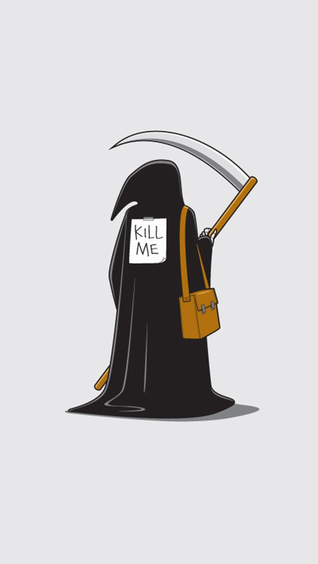 practical joke iphone wallpaper tags death joke practical vector 640x1136