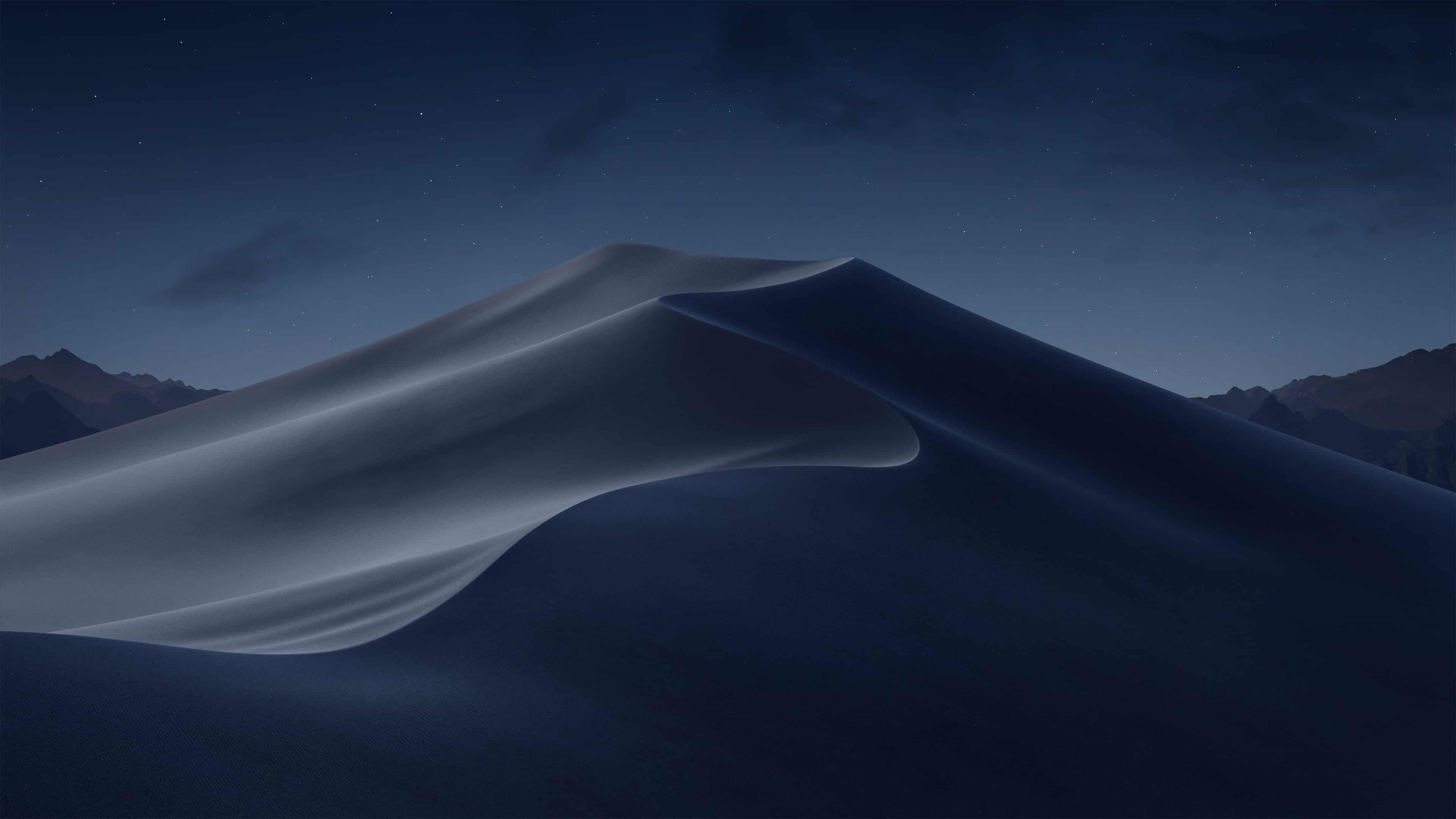 Mac OSX 1014 Mojave Night Background UHD 4K Wallpaper Pixelz 3840x2160