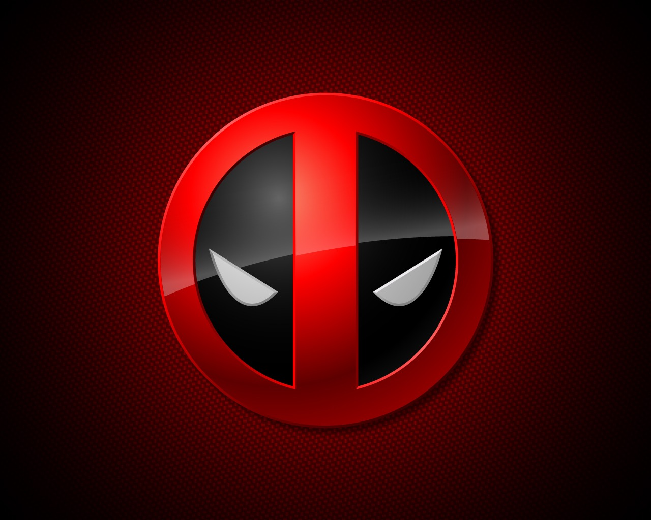 Image   2293 marvel deadpool simple logo wallpaper 1280x1024 customity 1280x1024