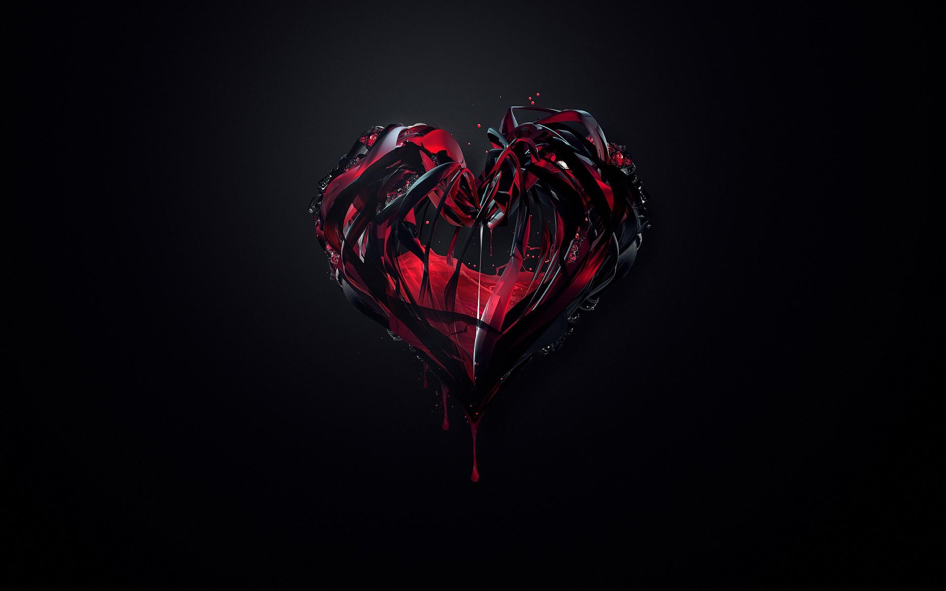 3D Heart Wallpaper