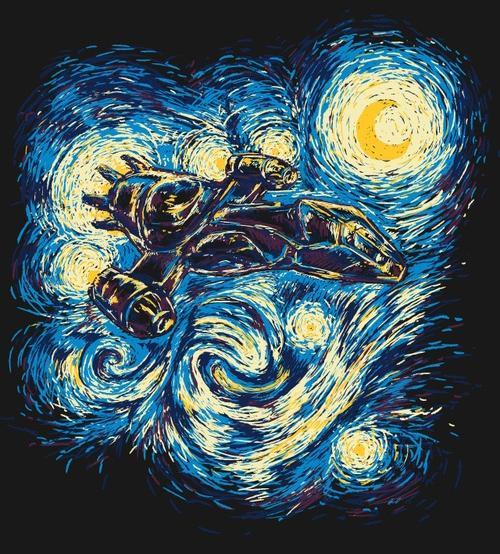 Van Gogh Wallpaper: Batman Van Gogh Wallpaper