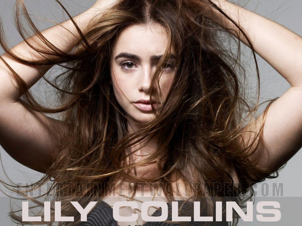 Lily Collins wallpaper   Lily Collins Wallpaper 34732624 1024x768