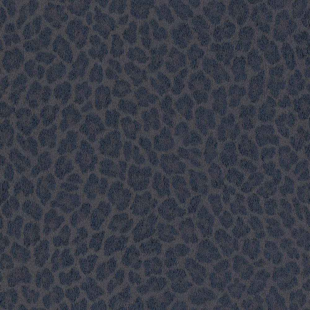 Rasch Leopard Print Pattern Faux Effect Fur Metallic Wallpaper 473605 1000x1000
