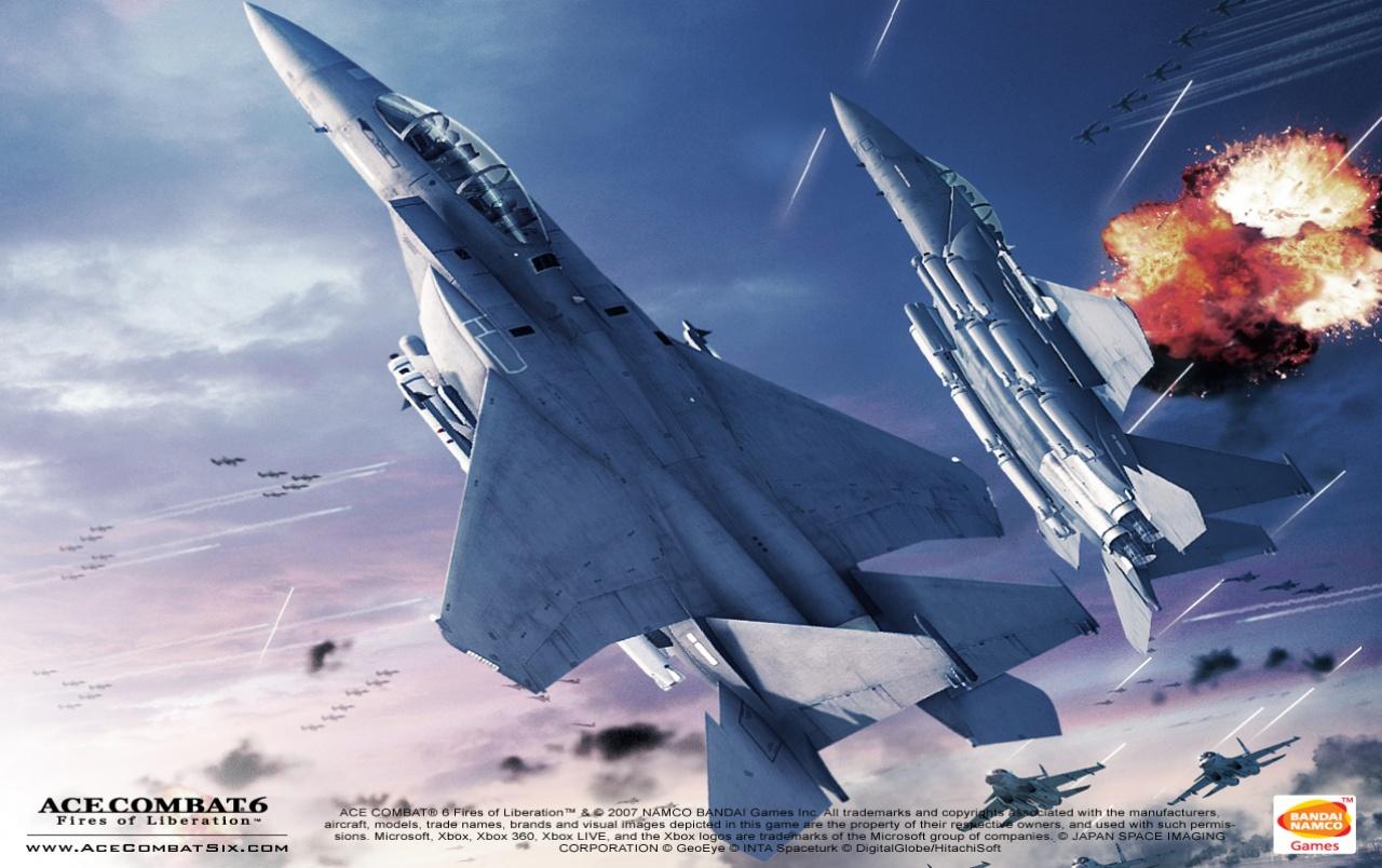 Ace Combat 6 wallpapers Ace Combat 6 stock photos 1280x804