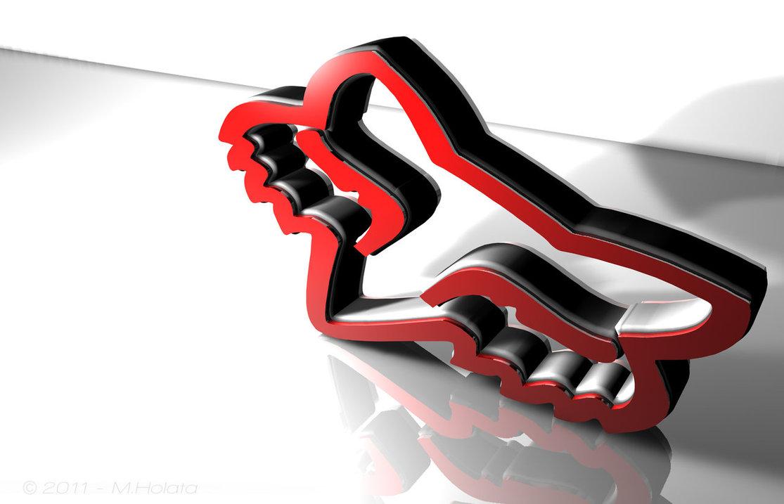 Logo FOX wall 3D by webstr FOX 1115x717