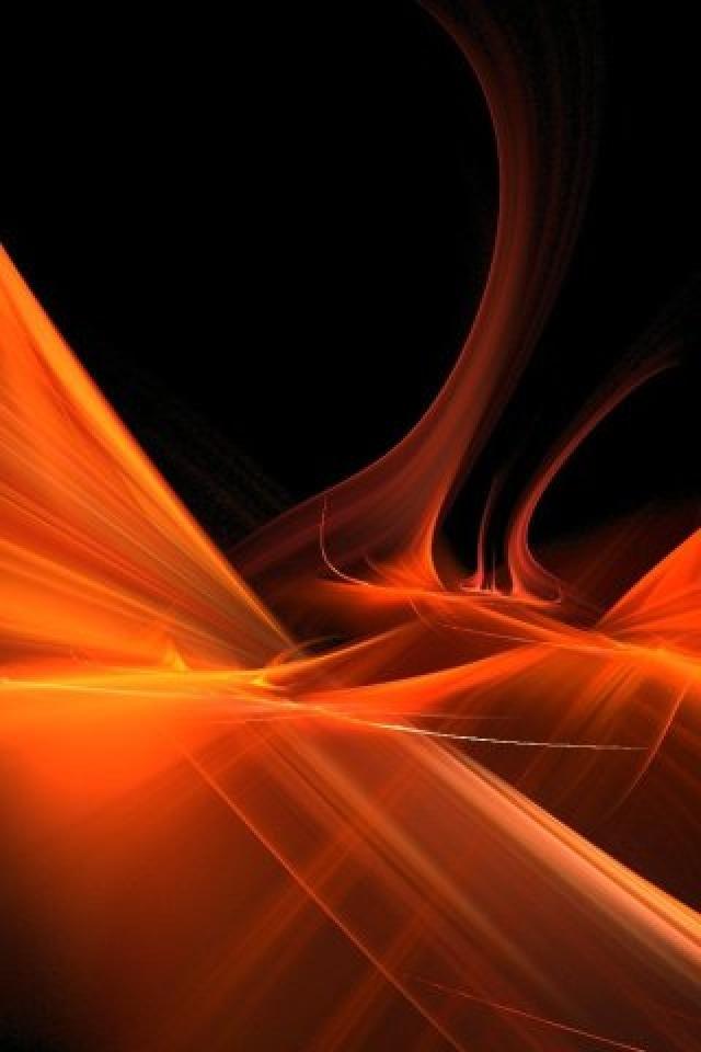 wallpaper black and orange - photo #18
