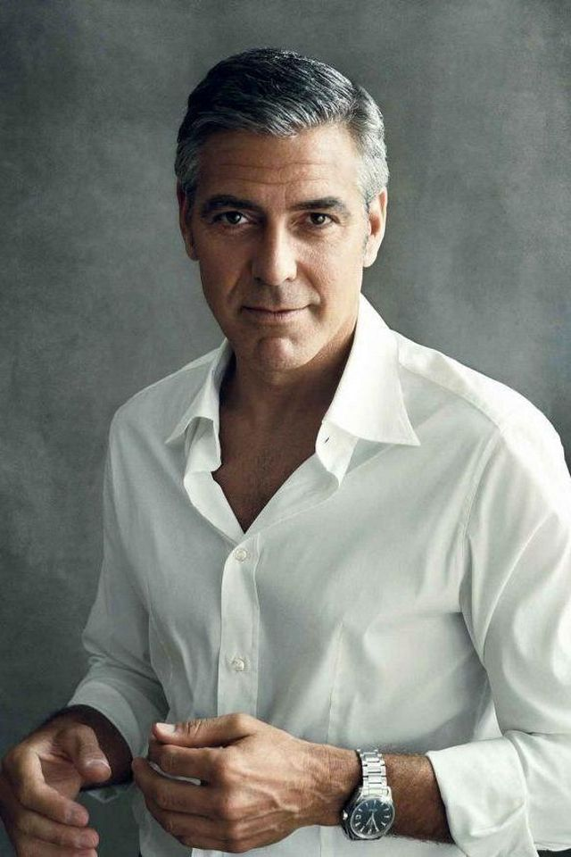 George Clooney   Download iPhoneiPod TouchAndroid Wallpapers 640x960