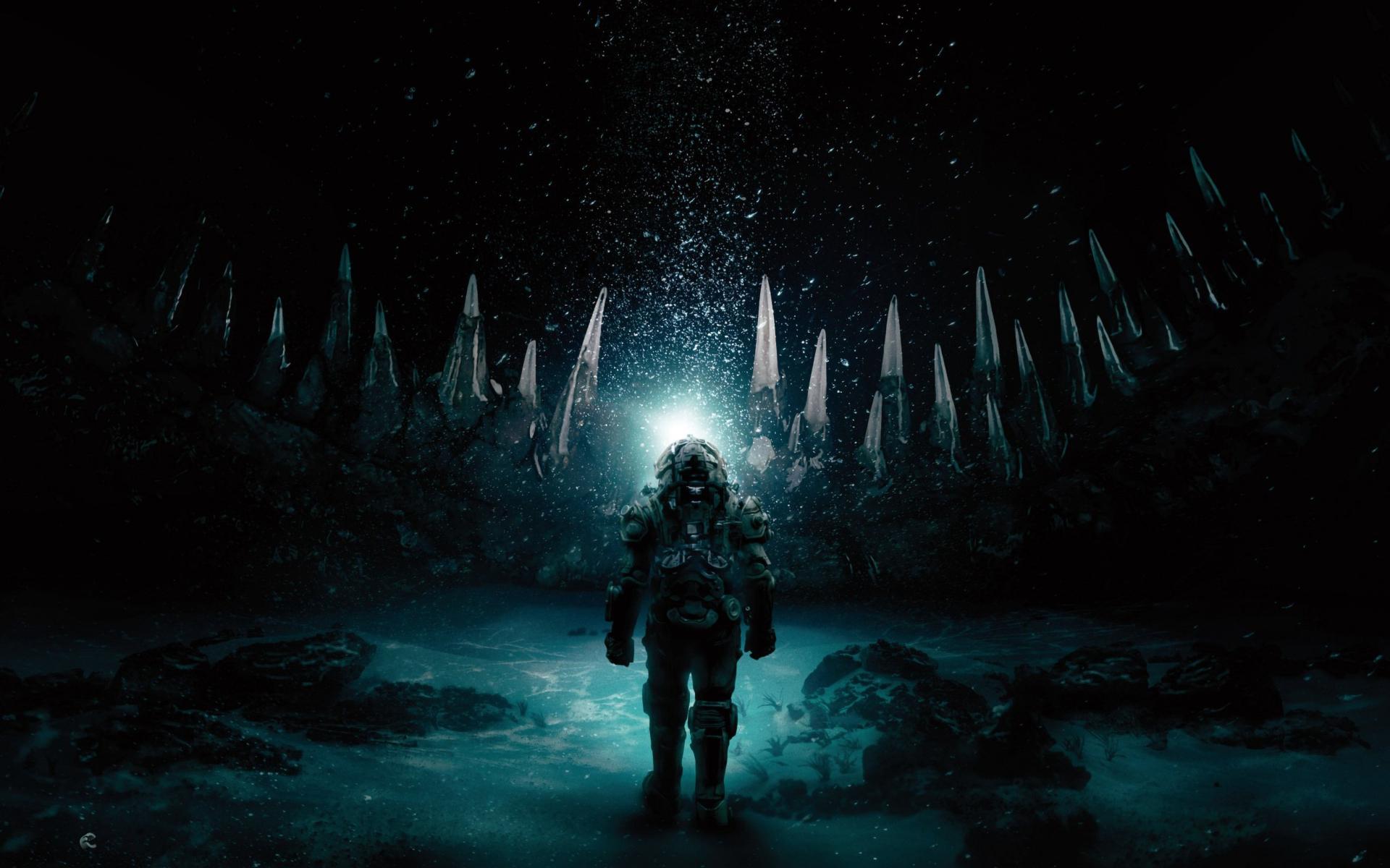 1920x1200 Underwater 2020 Movie 1200P Wallpaper HD Movies 4K 1920x1200
