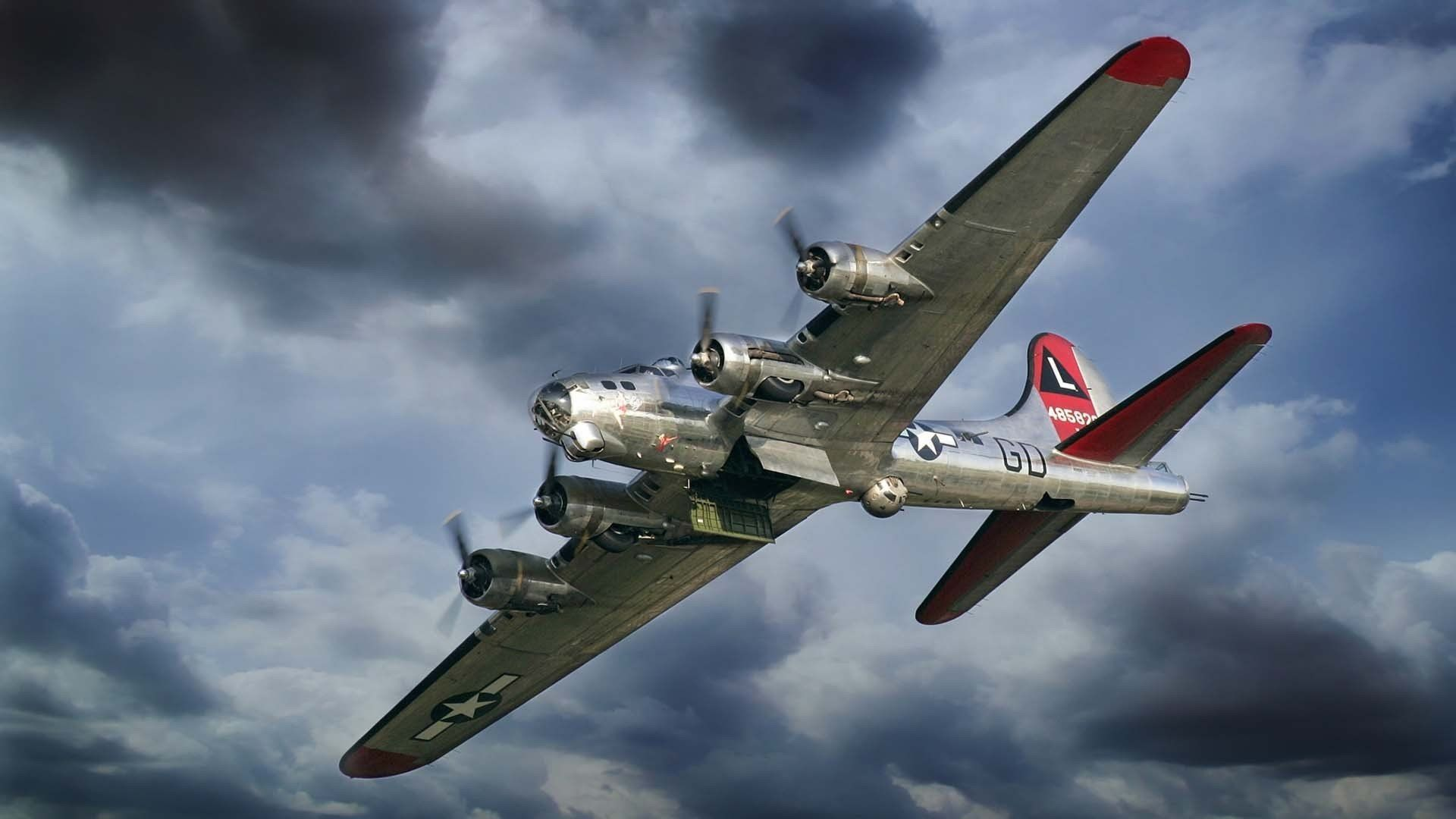 70 B 17 Flying Fortress Wallpapers   Download at WallpaperBro 1920x1080