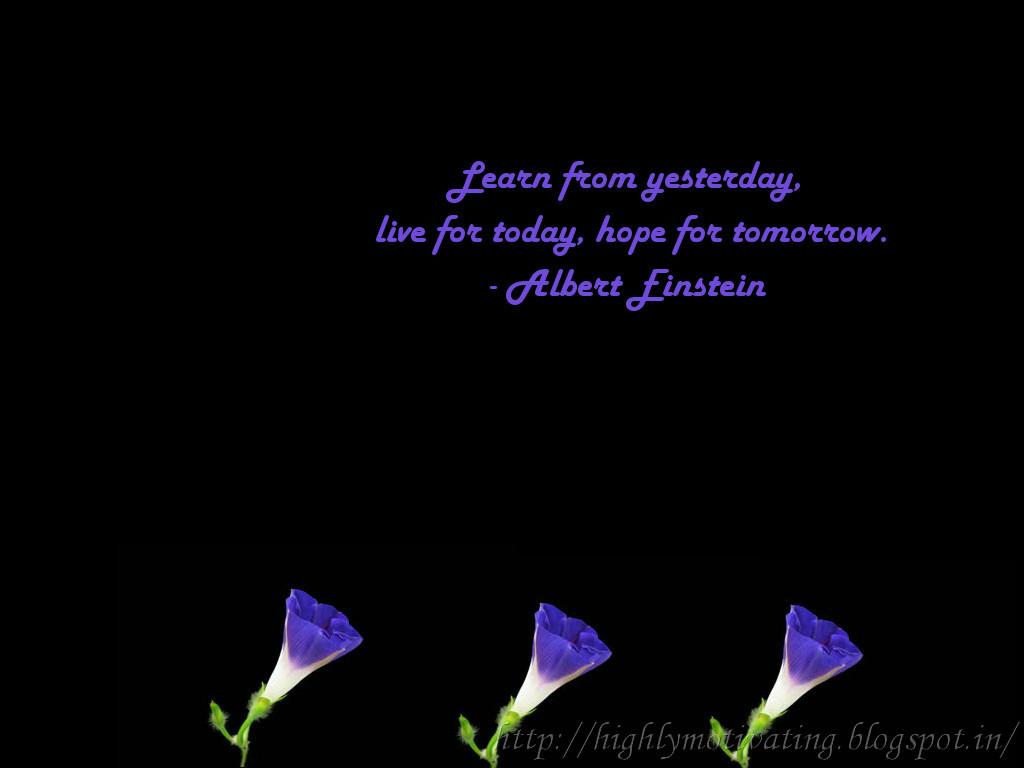 And Motivation Inspirational Wallpaper Albert Einstein Quote 1024x768