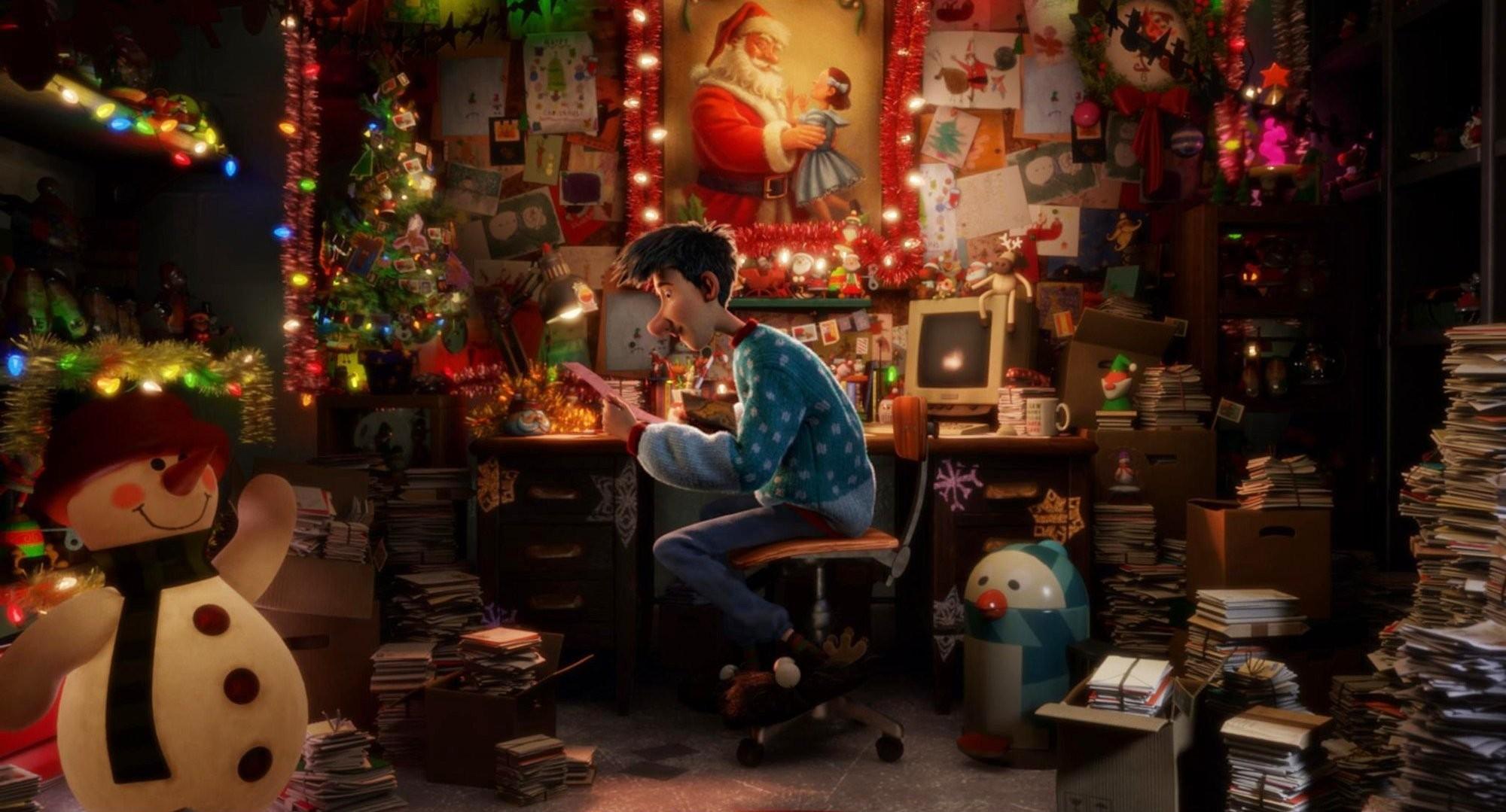 Best 46 Arthur Christmas Wallpaper on HipWallpaper Christmas 2000x1079