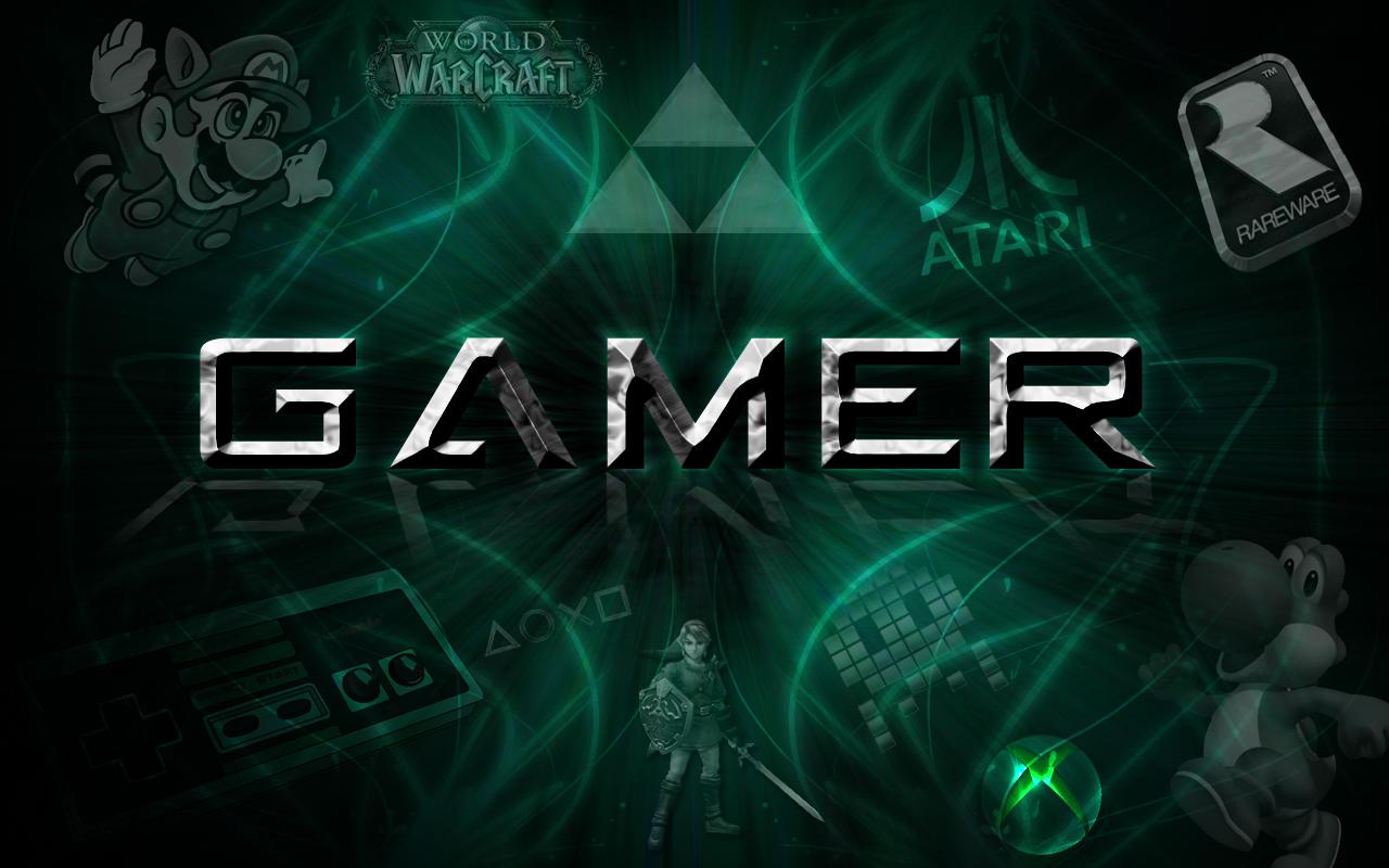 GAMER Wallpaper by myusernamelol 1280x800