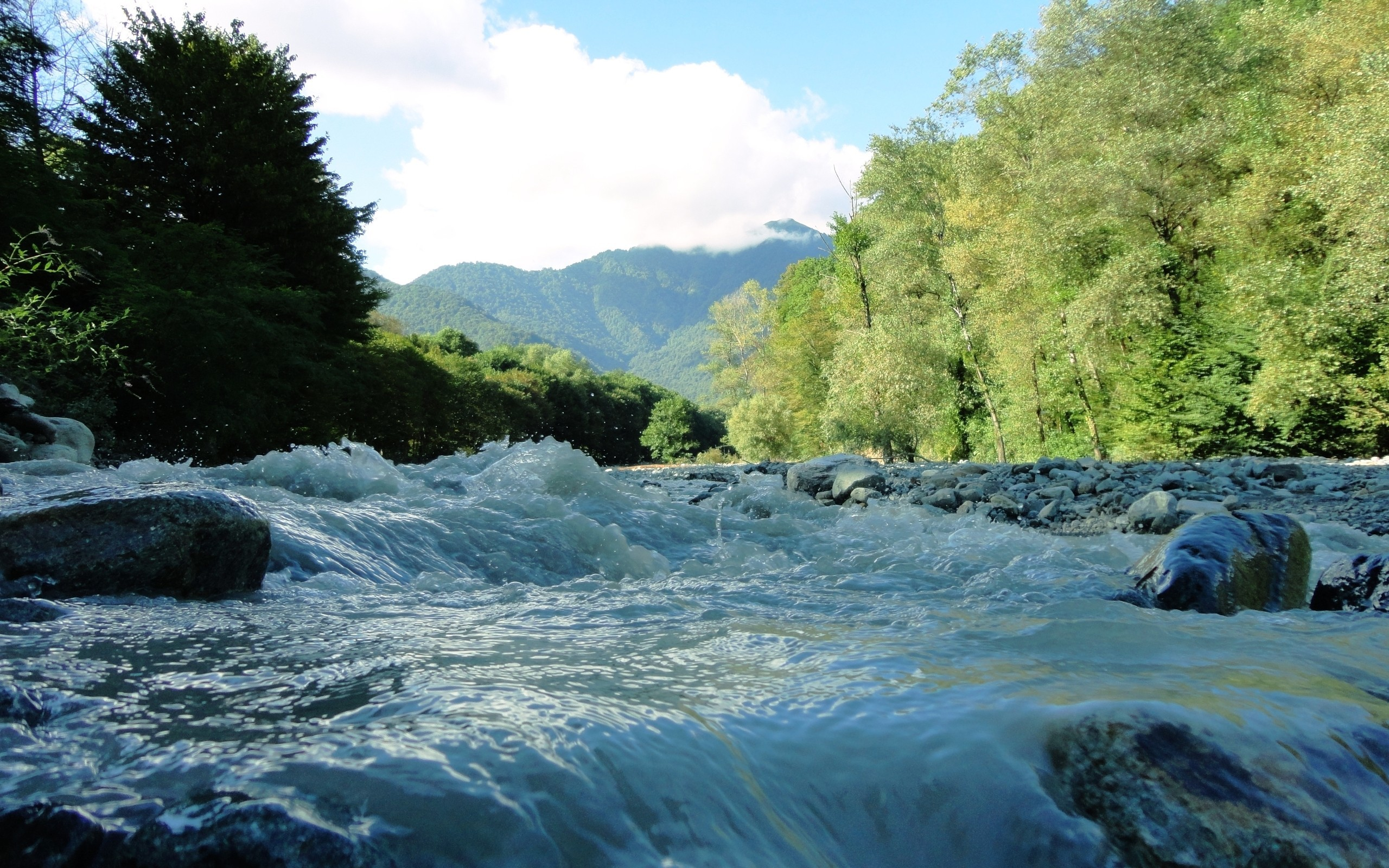 flowing river wallpaper - photo #16
