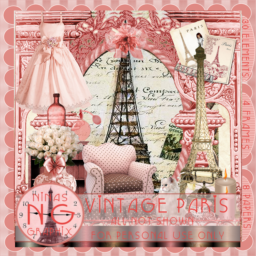 46 Vintage Paris Wallpaper On Wallpapersafari