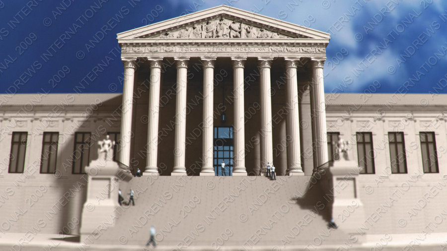 US Supreme Court building by MitchellLazear 900x506