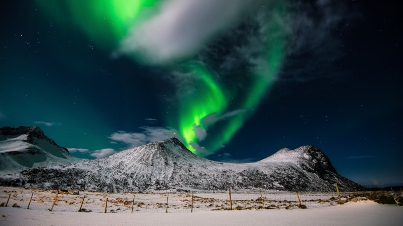 Aurora Borealis Northern Lights HD Wallpaper - WallpaperFX