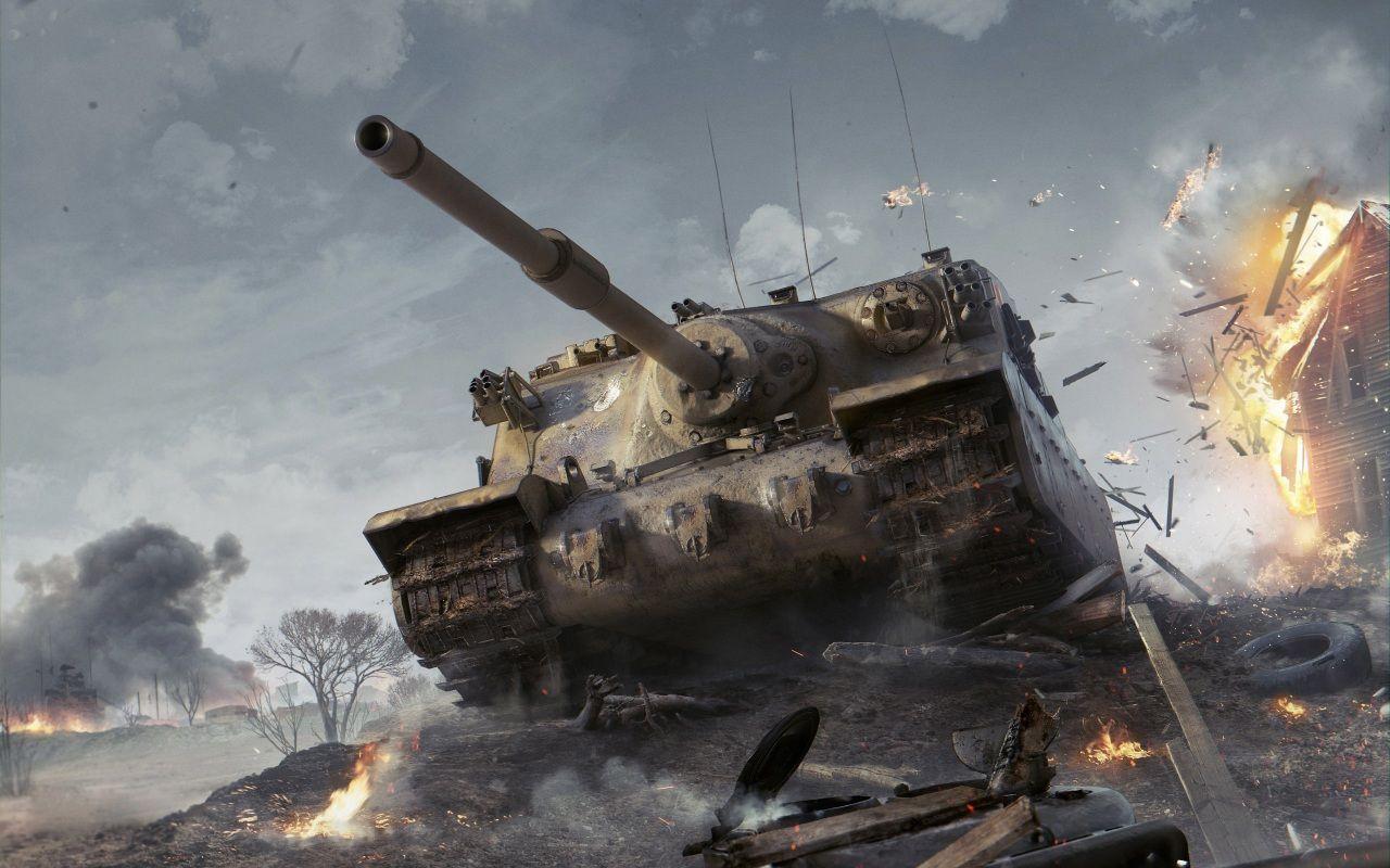 World of Tanks SPG Tortoise Games Army Tanks Tank wallpaper 1280x800
