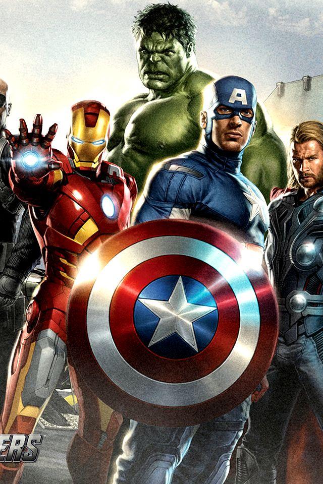 49 Avengers Iphone Wallpaper On Wallpapersafari