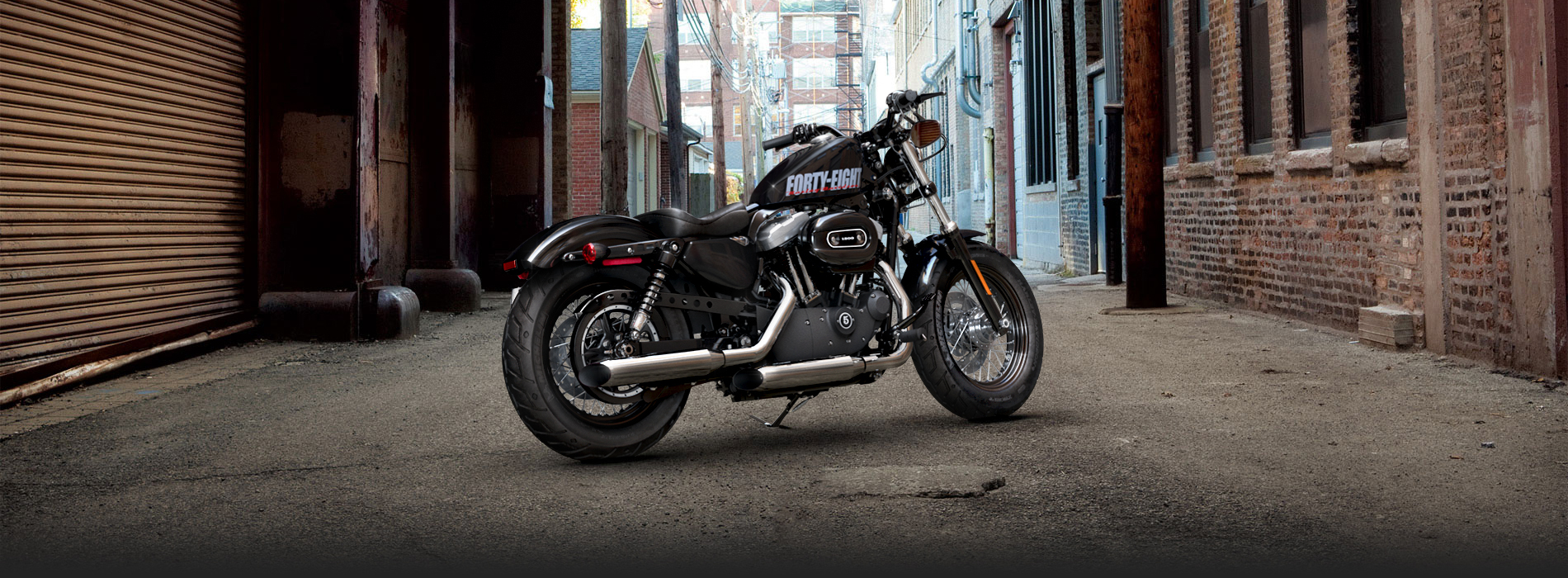 2016 Sportster Forty Eight Harley Davidson India 1900x700