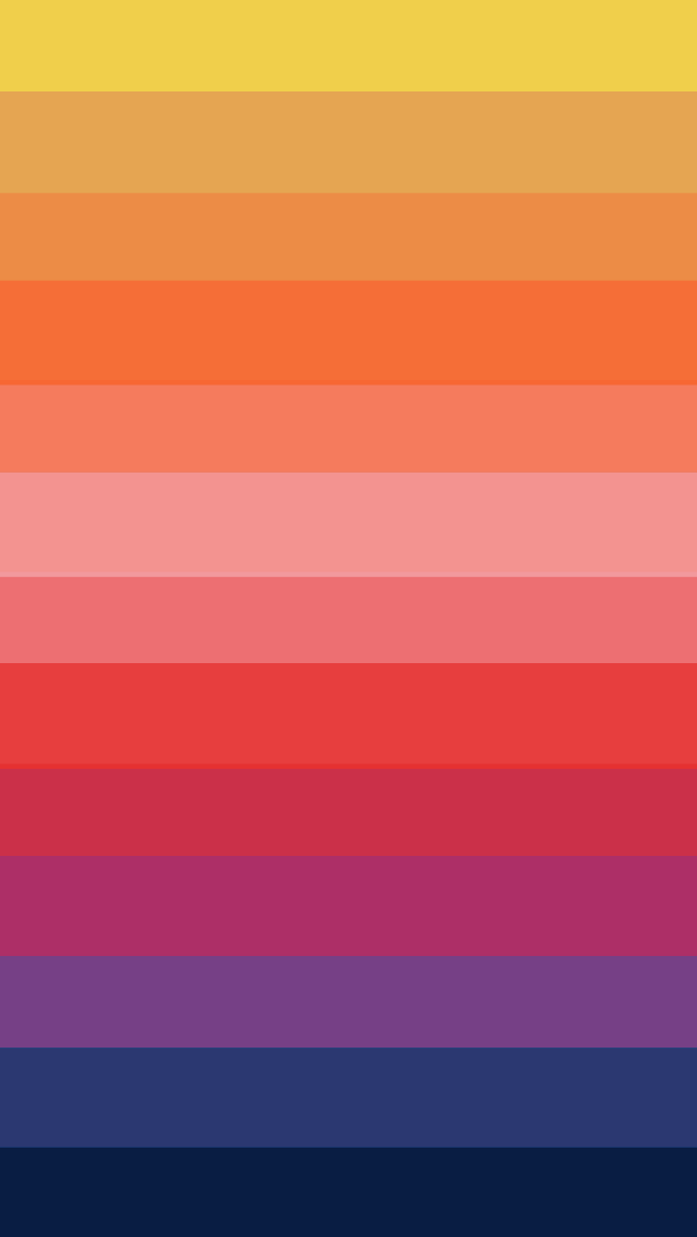 Horizontal Rainbow Stripes Wallpaper   iPhone Wallpapers 640x1136