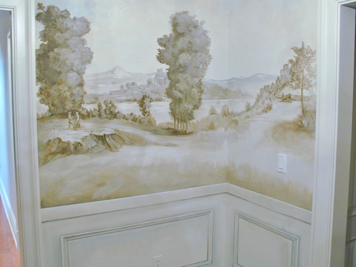 Top zuber chinoiserie wallpaper wallpapers for Anthropologie etched arcadia mural