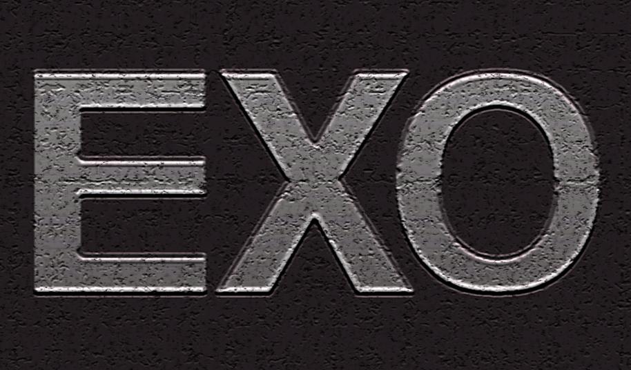 Exo Logo Wallpaper Exo logo   metal by 914x536