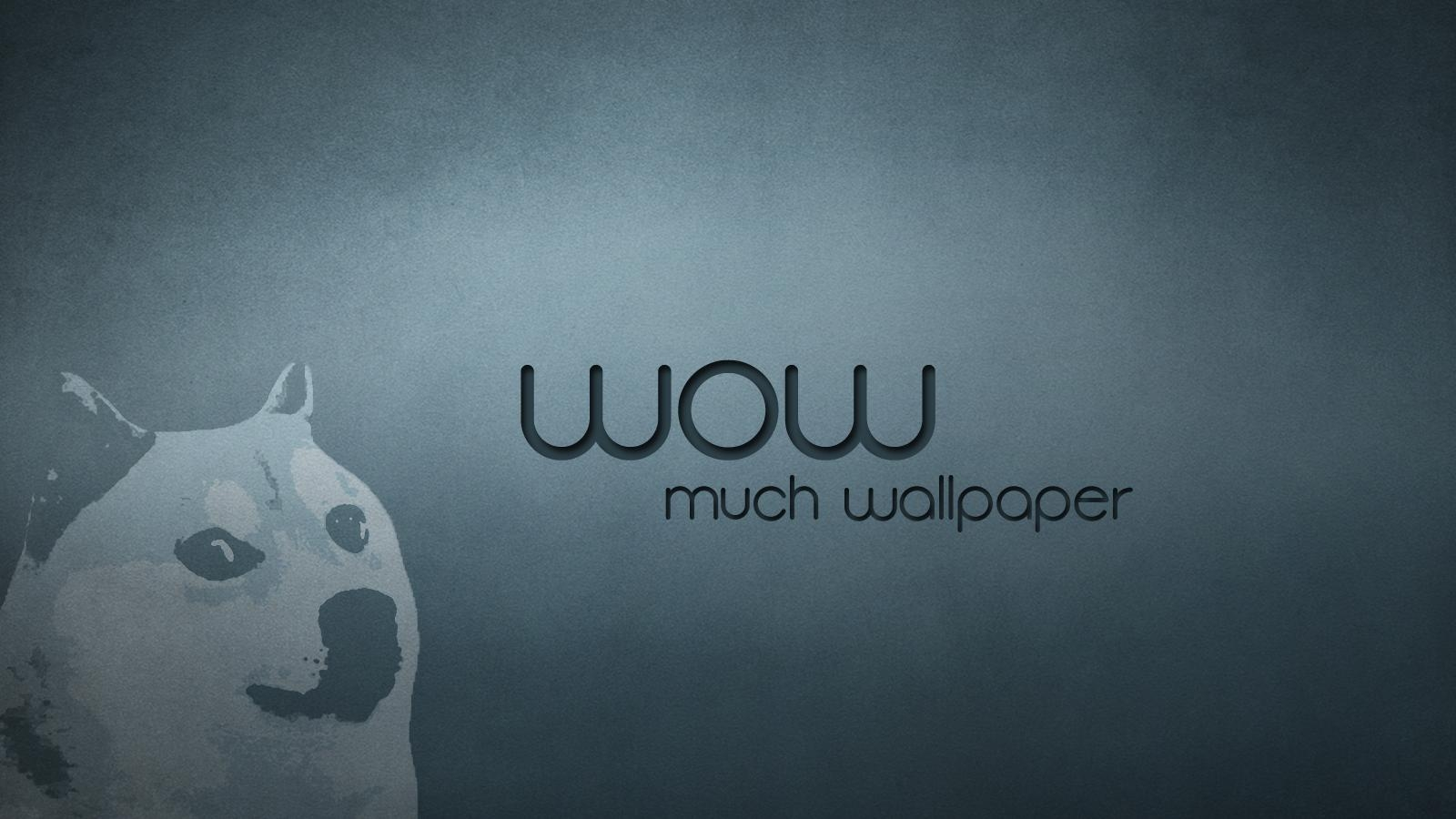 Wow Such Wallpaper   Doge Wallpaper 1600x900 18371 1600x900