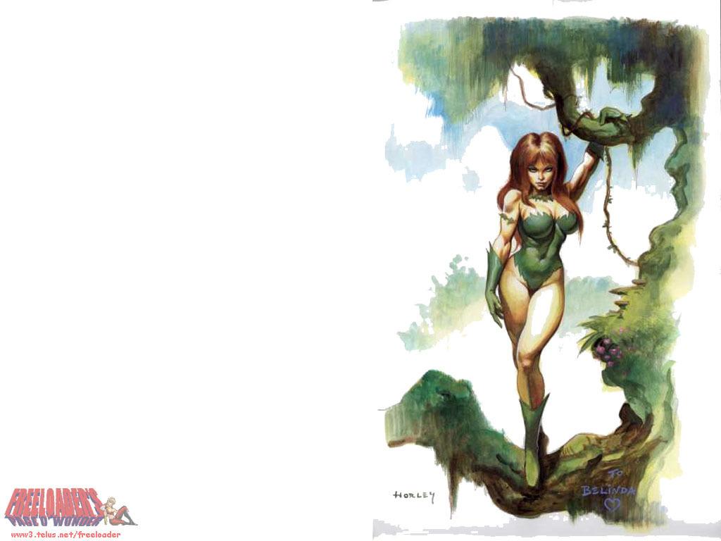 sexy poison ivy wallpaper wallpapersafari