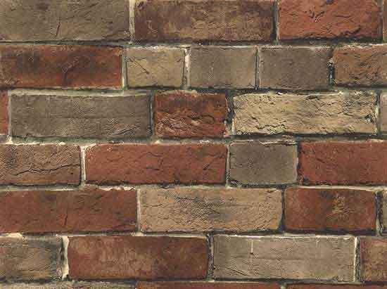 Faux Brick Wallpaper Home Design Ideas 550x411