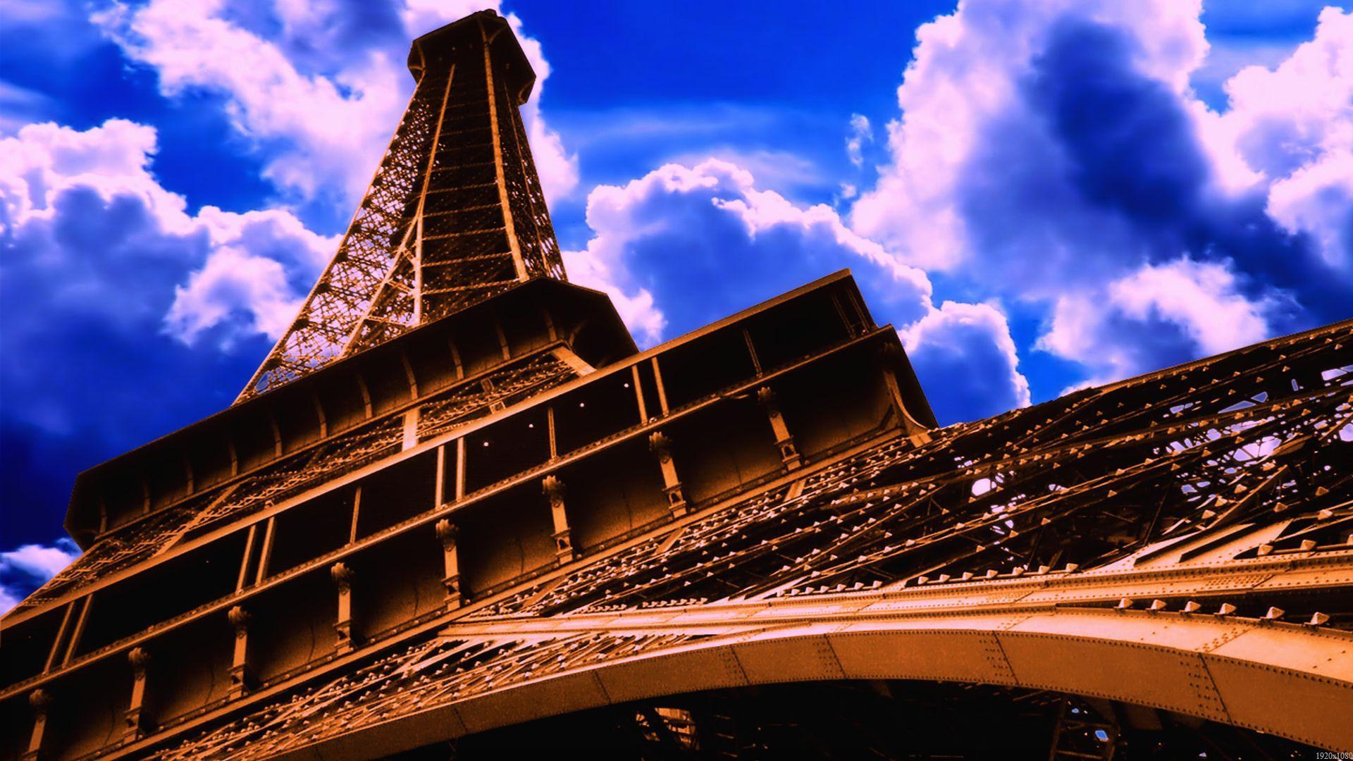 Monuments of paris wallpaper wallpapersafari for Fond ecran paris