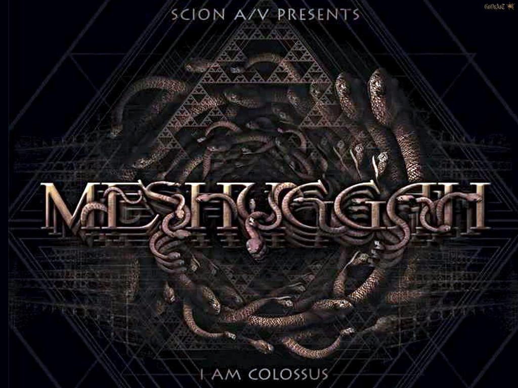 MESHUGGAH   BANDSWALLPAPERS wallpapers music wallpaper 1024x768