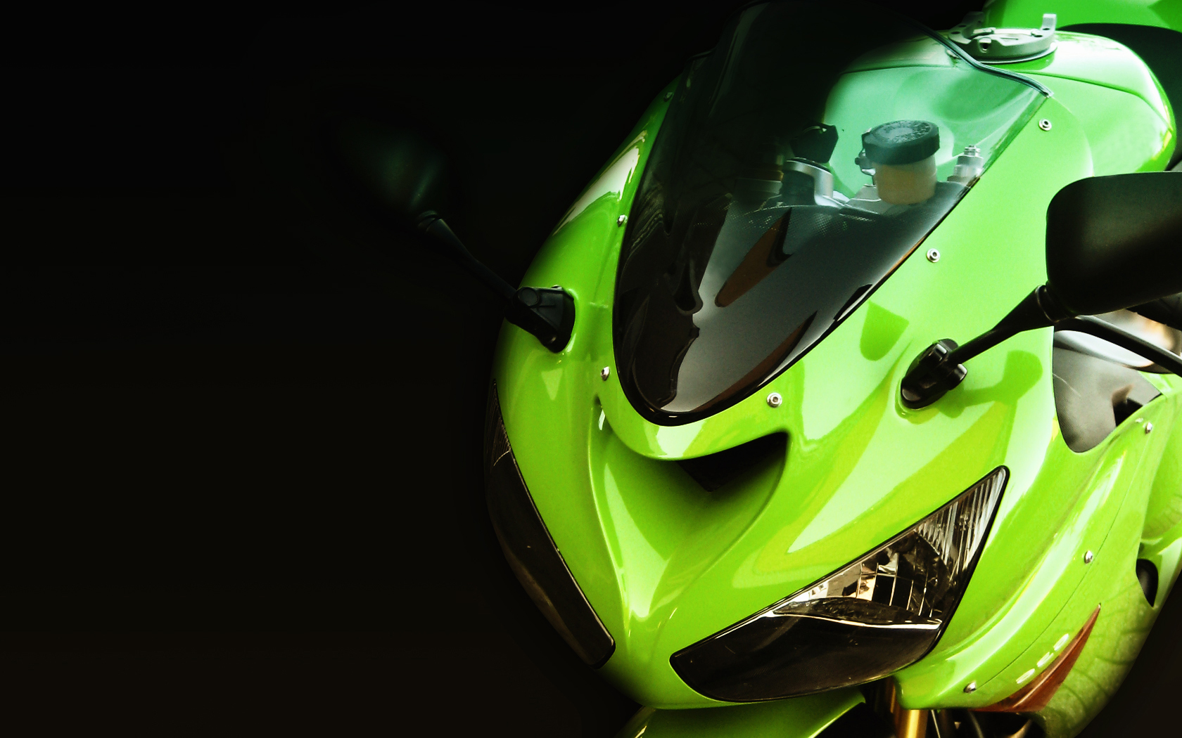 Kawasaki zx6r Wallpaper by vrlosilepa 1680x1050