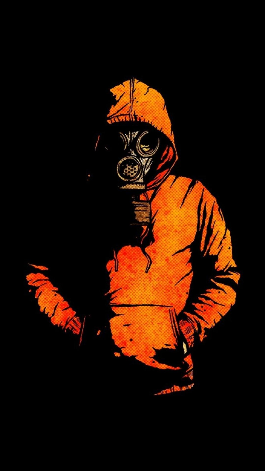 74 Orange Black Wallpapers on WallpaperPlay 1080x1920
