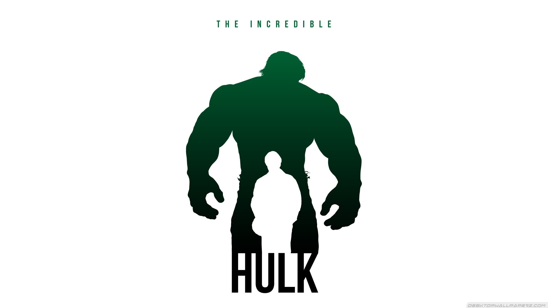 Minimalistic Marvel Comics Avengers Posters Fan Art The Incredible 1920x1080