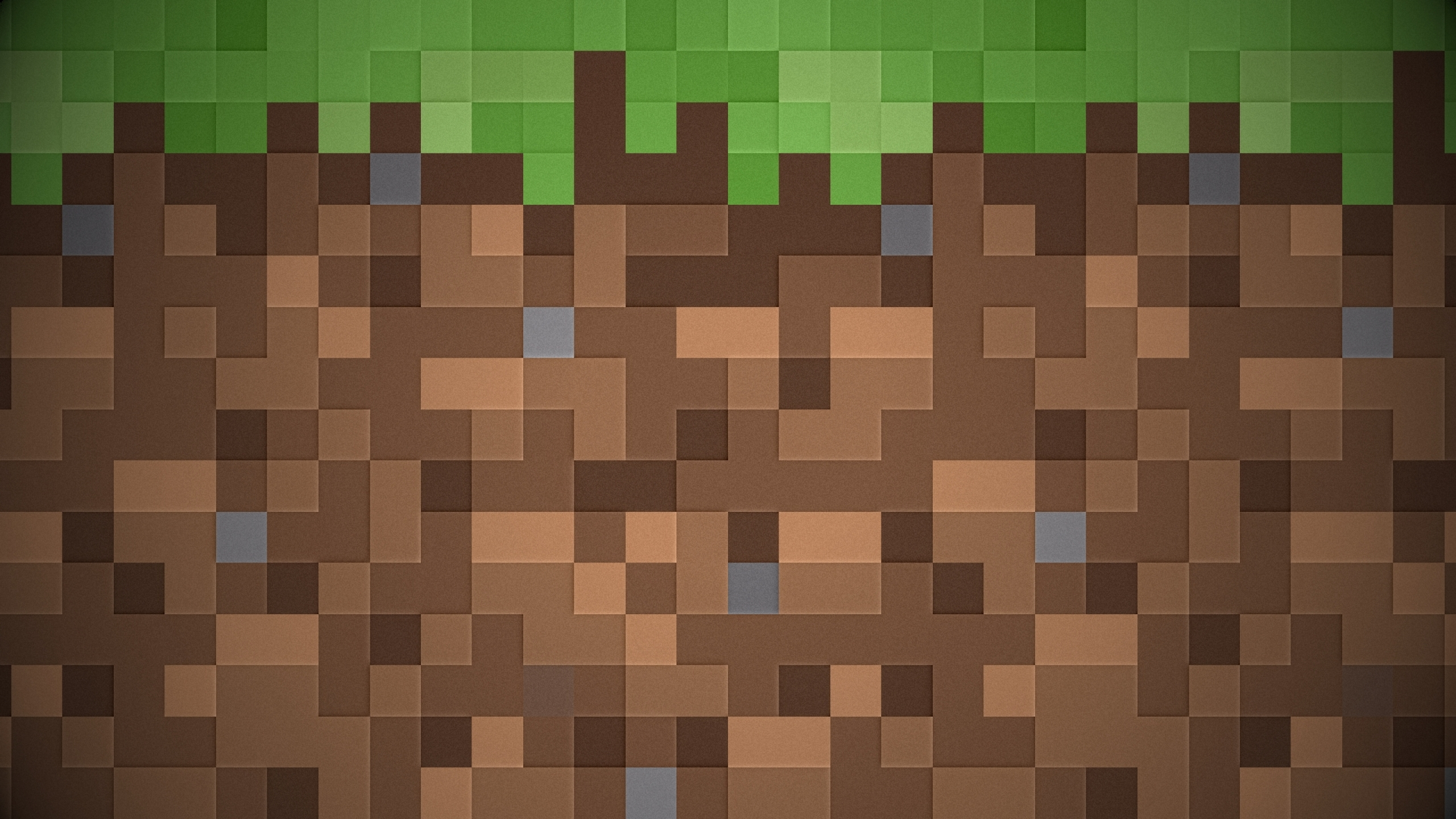 pixels dirt minecraft 1920x1080 wallpaper Miscellaneous HD Wallpaper 2560x1440