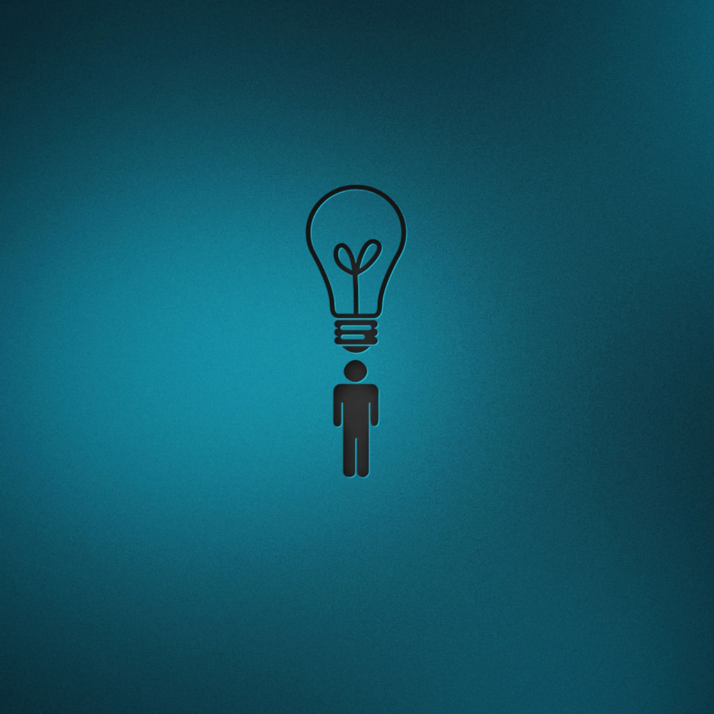 iPad Wallpapers Bulb people   Funny iPad iPad 2 iPad mini 1024x1024
