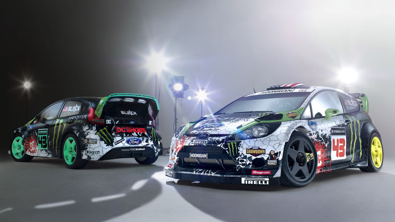 Your Ridiculously Cool 2012 Ken Block Ford Fiestas Wallpaper Are Here 1600x900