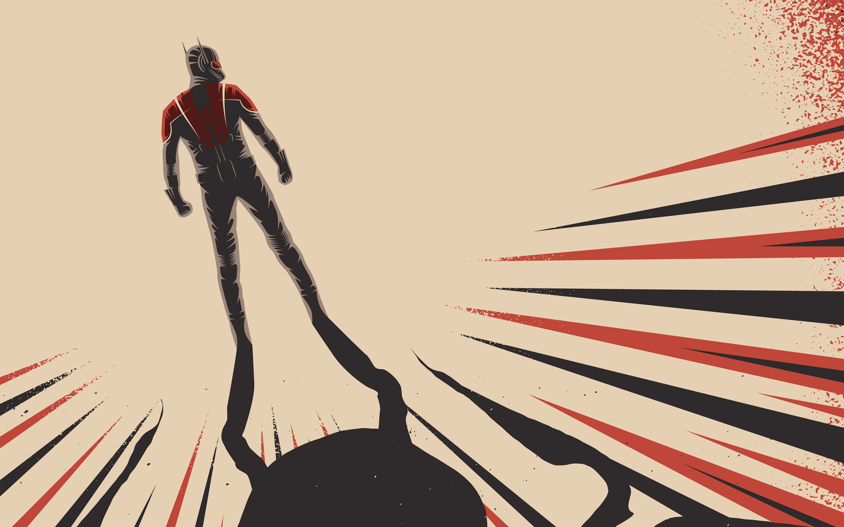 Ant Man Vintage Wallpapers HD Wallpapers 2880x1800