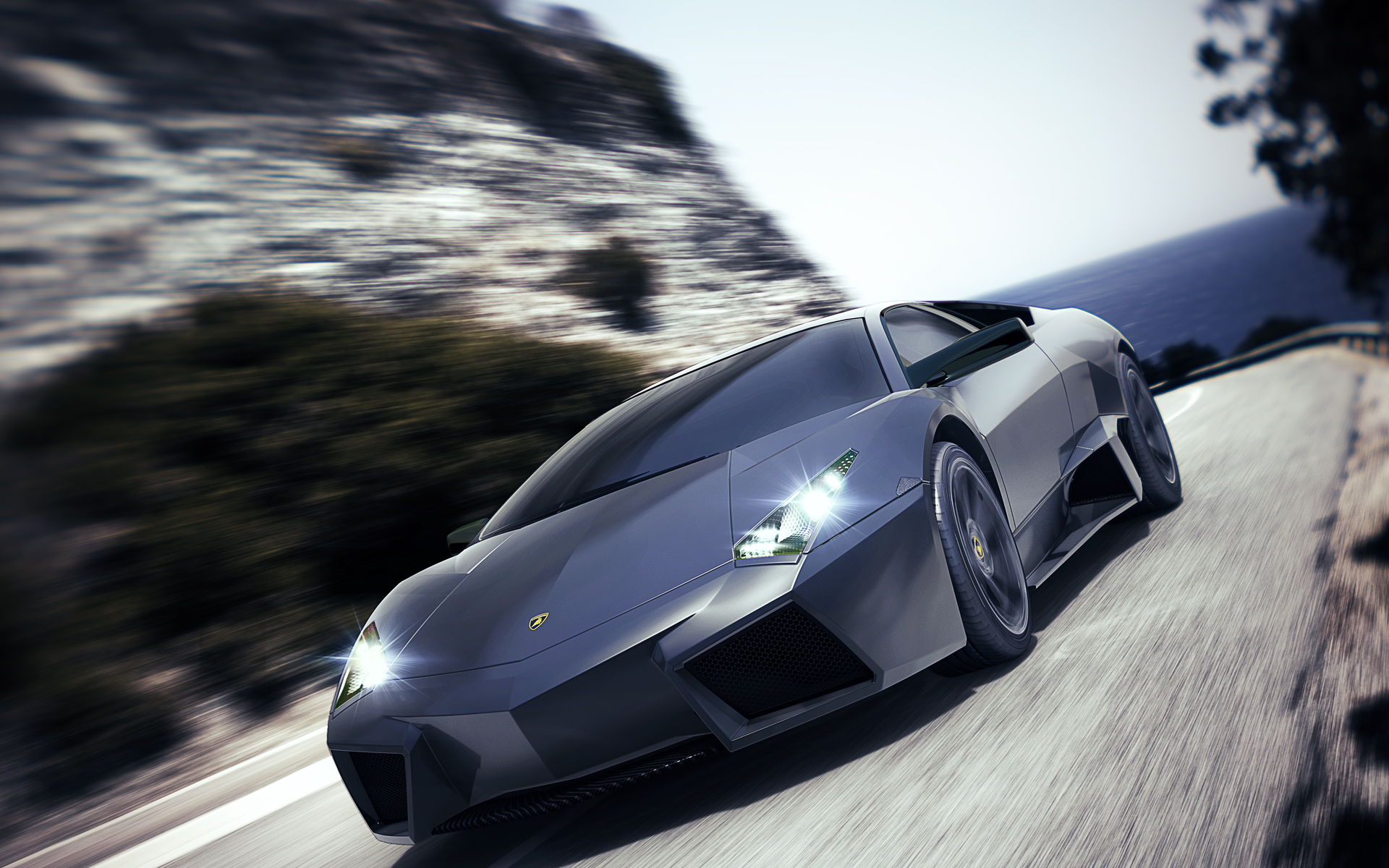 New Lamborghini Reventon Sports Wallpaper HD Car Wallpapers 1920x1200