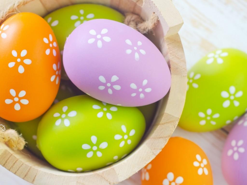 easter eggs HD Wallpaper 9504 1024x768